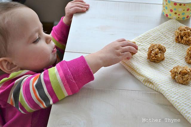 Biscoff Granola Balls | www.motherthyme.com