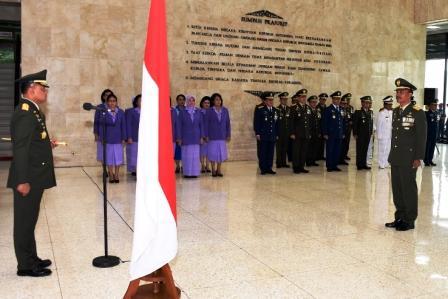 37 Pati TNI Naik Pangkat
