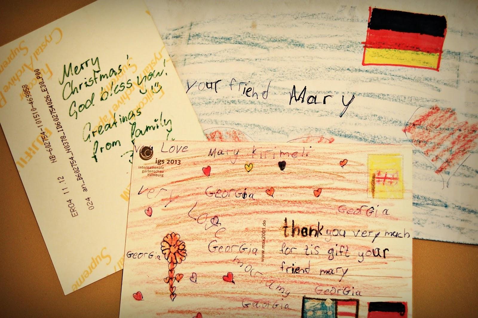 Weihnachten im Schuhkarton®: Briefe aus Georgien