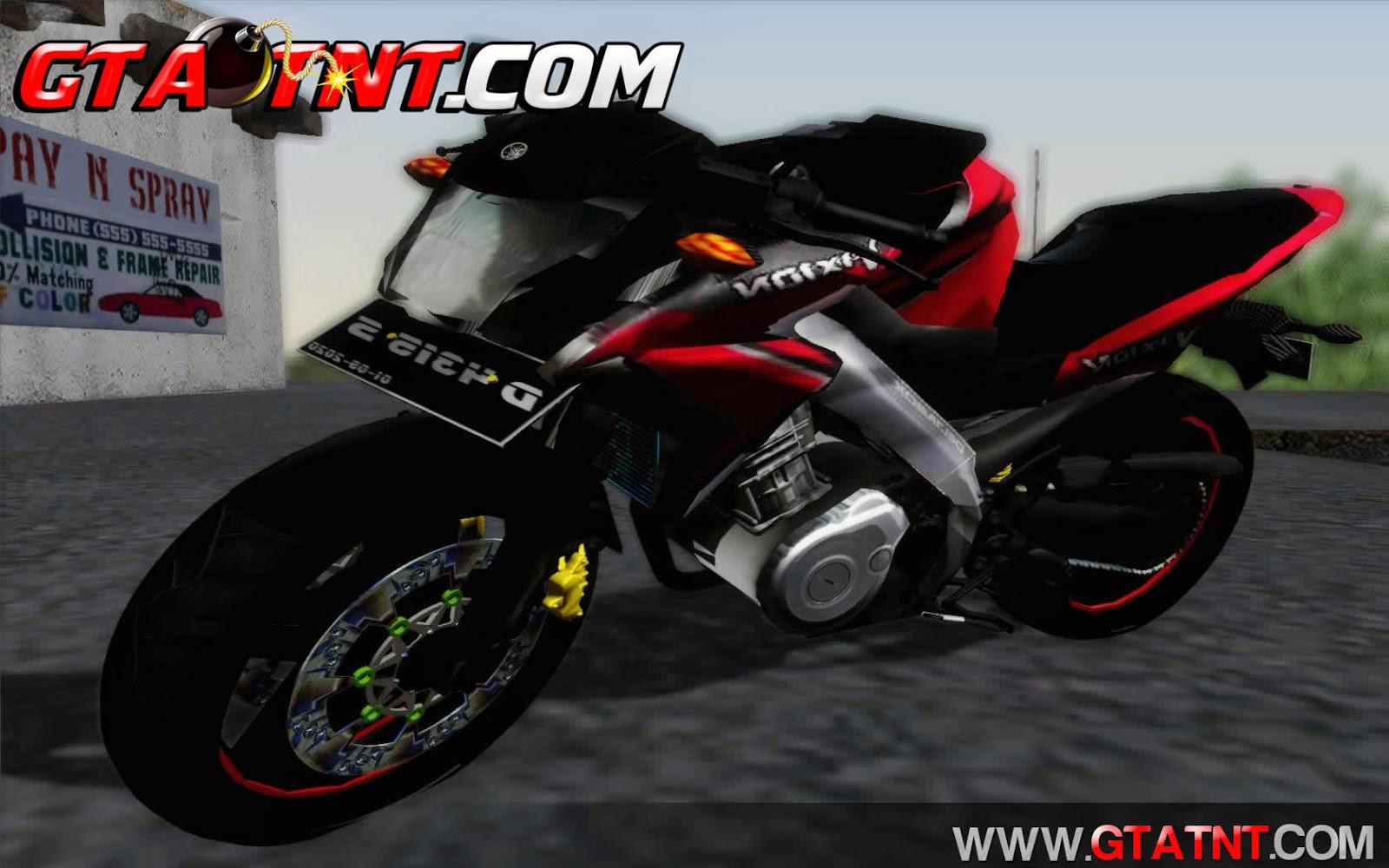 Yamaha V-Ixion 2014 para GTA San Andreas