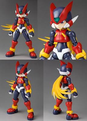 Rockman Zero figures