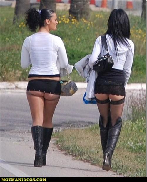 Prostitutas podem ser consideradas mal vestidas?