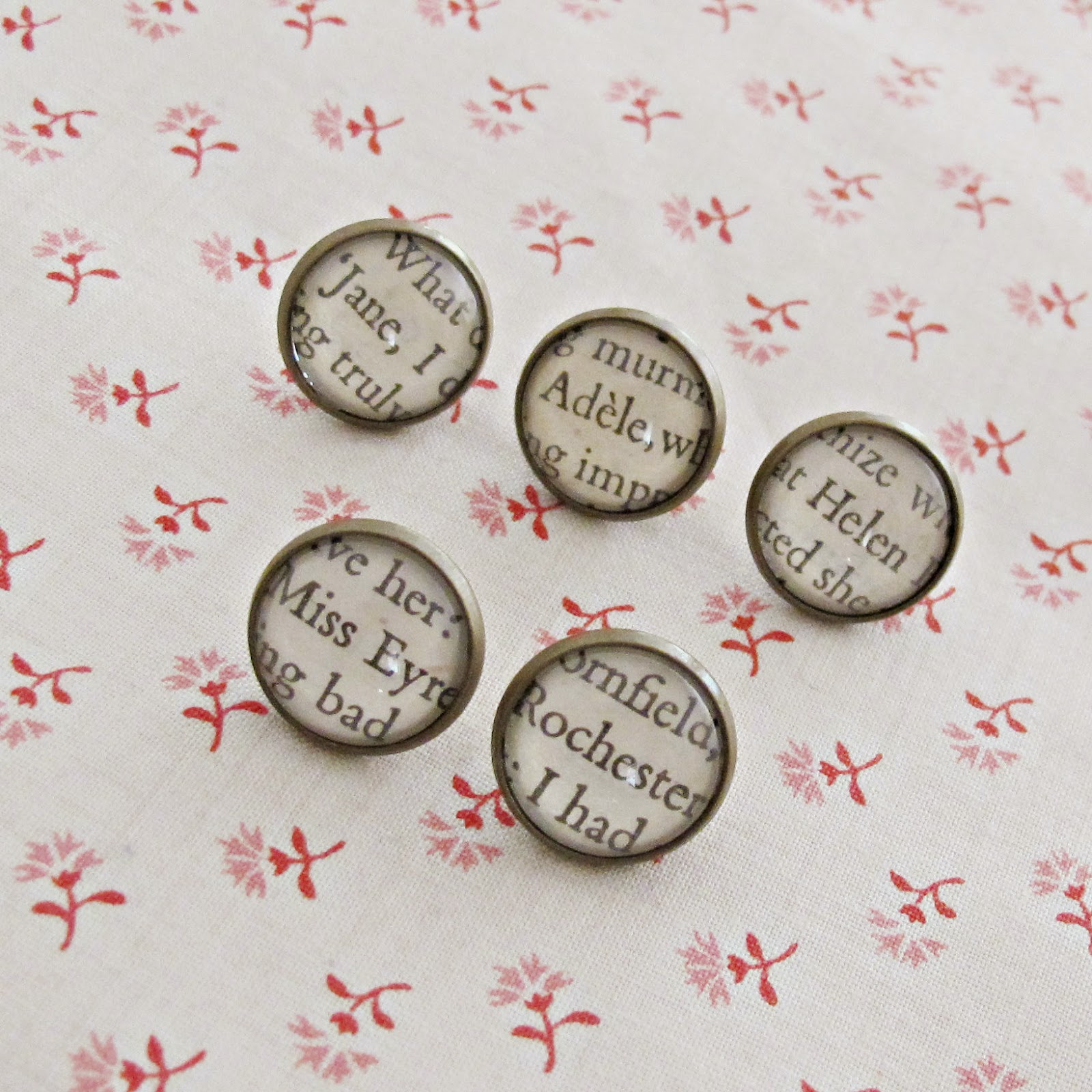 image thumbtack set jane eyre push pins pushpins charlotte bronte mr rochester miss eyre adele varens helen burns home office work office pinboard