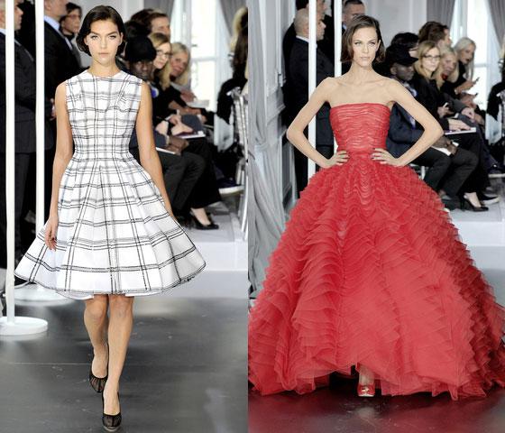 Dior alta costura primavera verano 2012