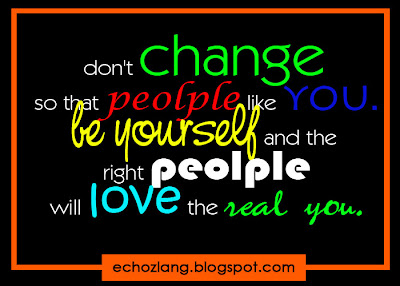 Dont change so that people like you. be yourself and the right people love the real you