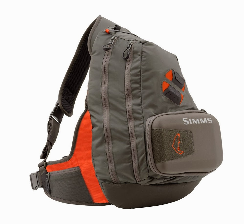 gorge fly shop blog simms headwaters large sling pack review