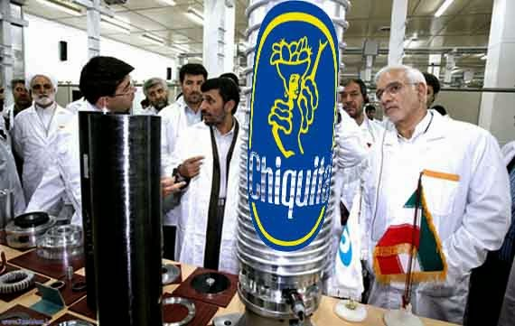 Iran Super Top Secret Banana Centrifuge Program
