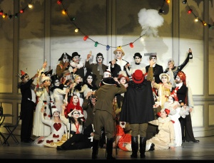 Queen of Spades - Grange Park Opera 2012 (Photography: Alastair Muir)