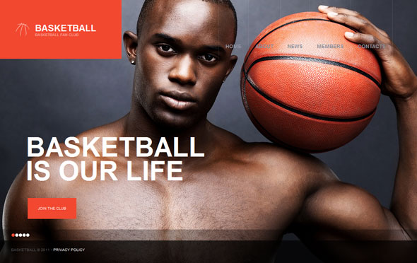 TM36009 - Basketball Premium  Theme by  TemplateMonster