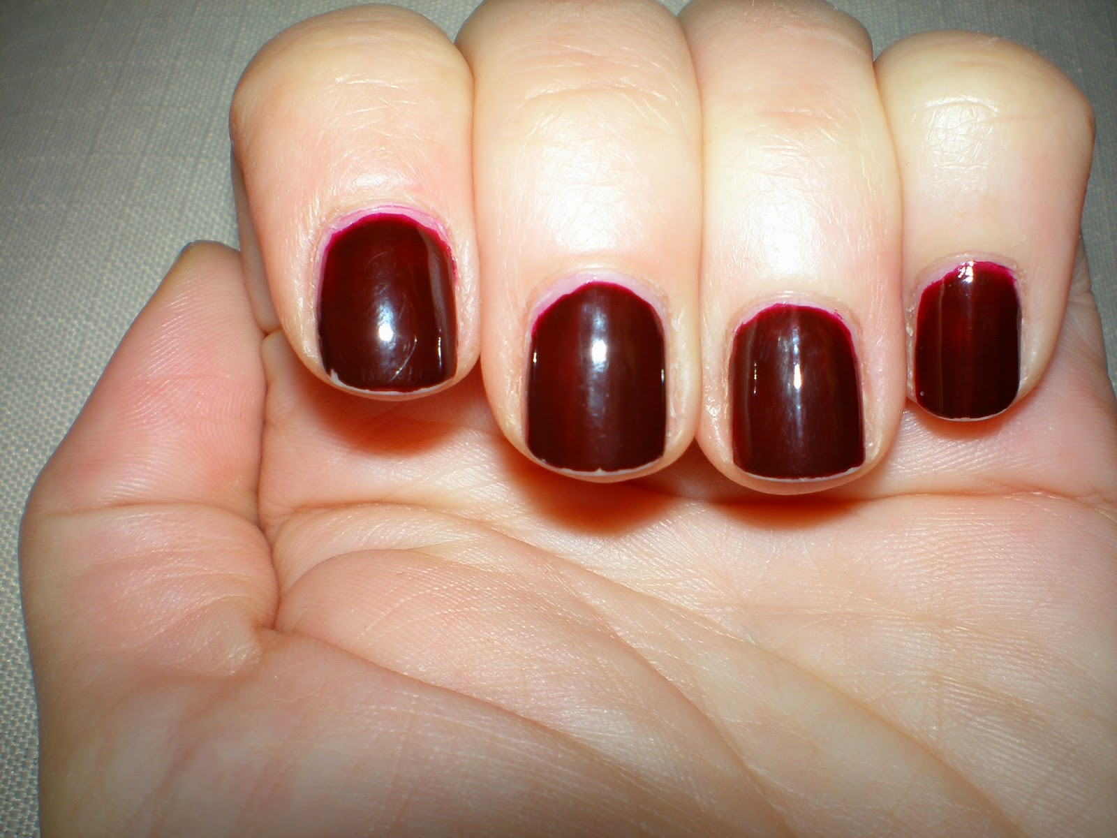 L'oreal Infallible Gel Nail polish after 8 days
