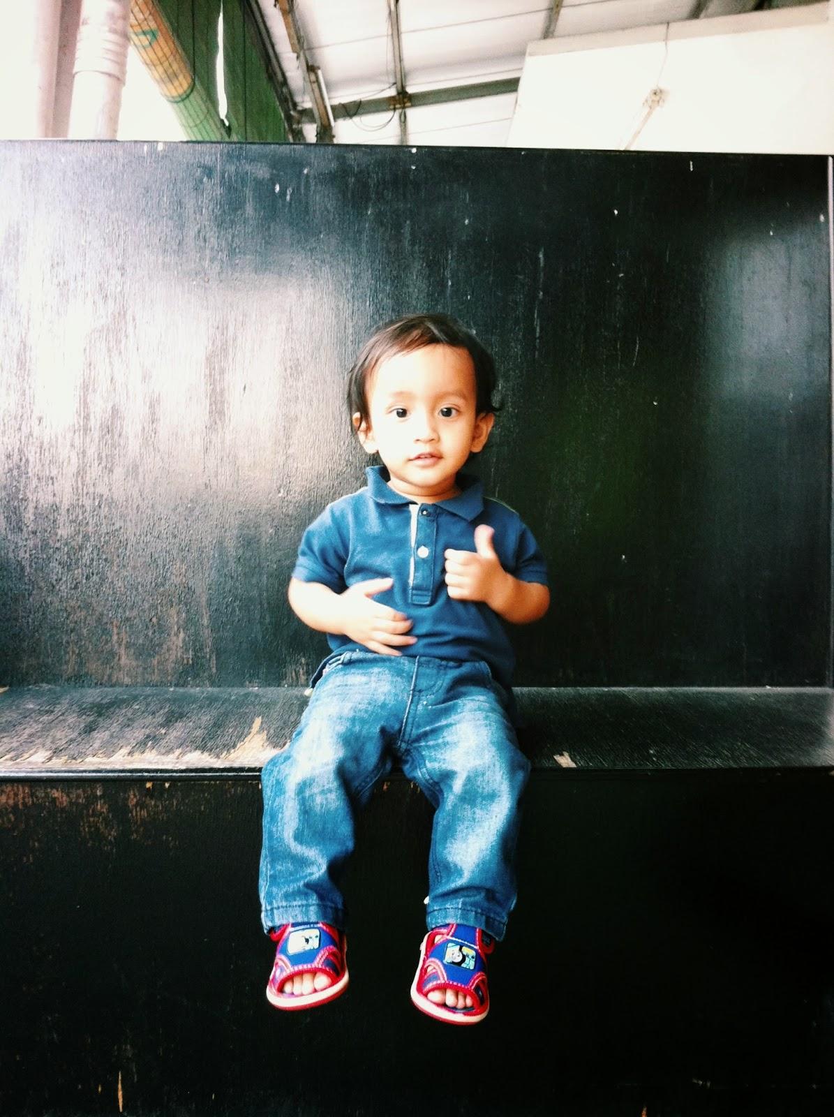 Diari Muhammad Fateh 1 tahun 3 bulan