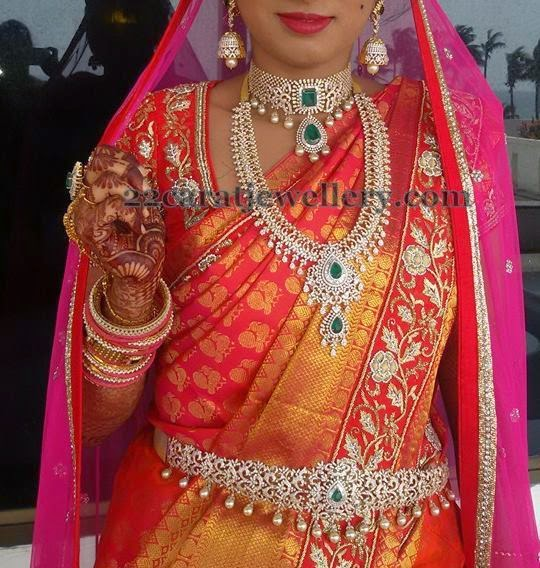 Gorgeous Bride in Royal Jewelry