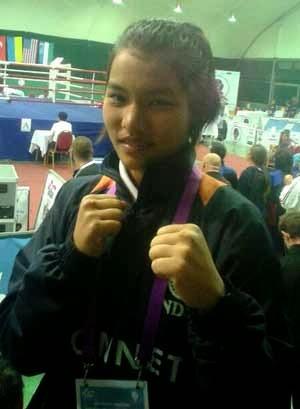 Asha Roka - Indian Gorkha boxer