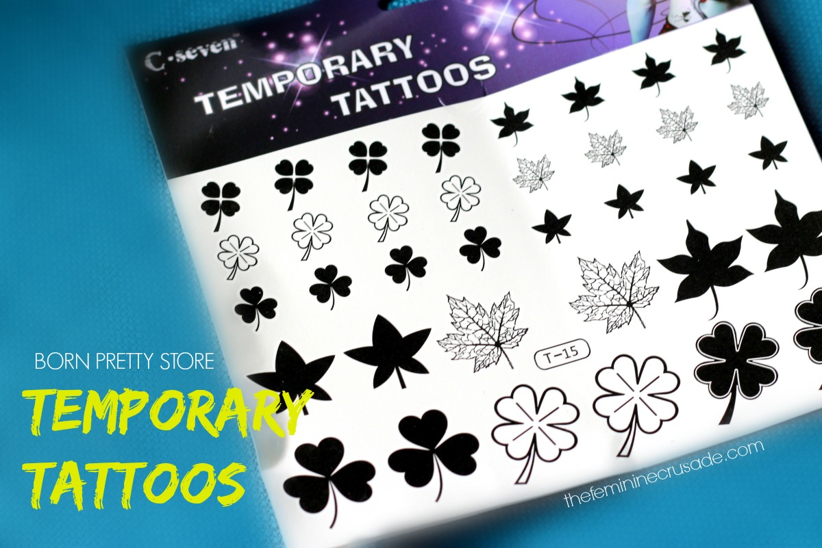 Born Pretty Store Temporay Tattoos