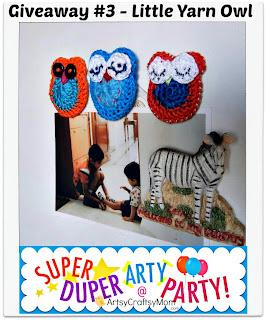 little yarn owl giveaway