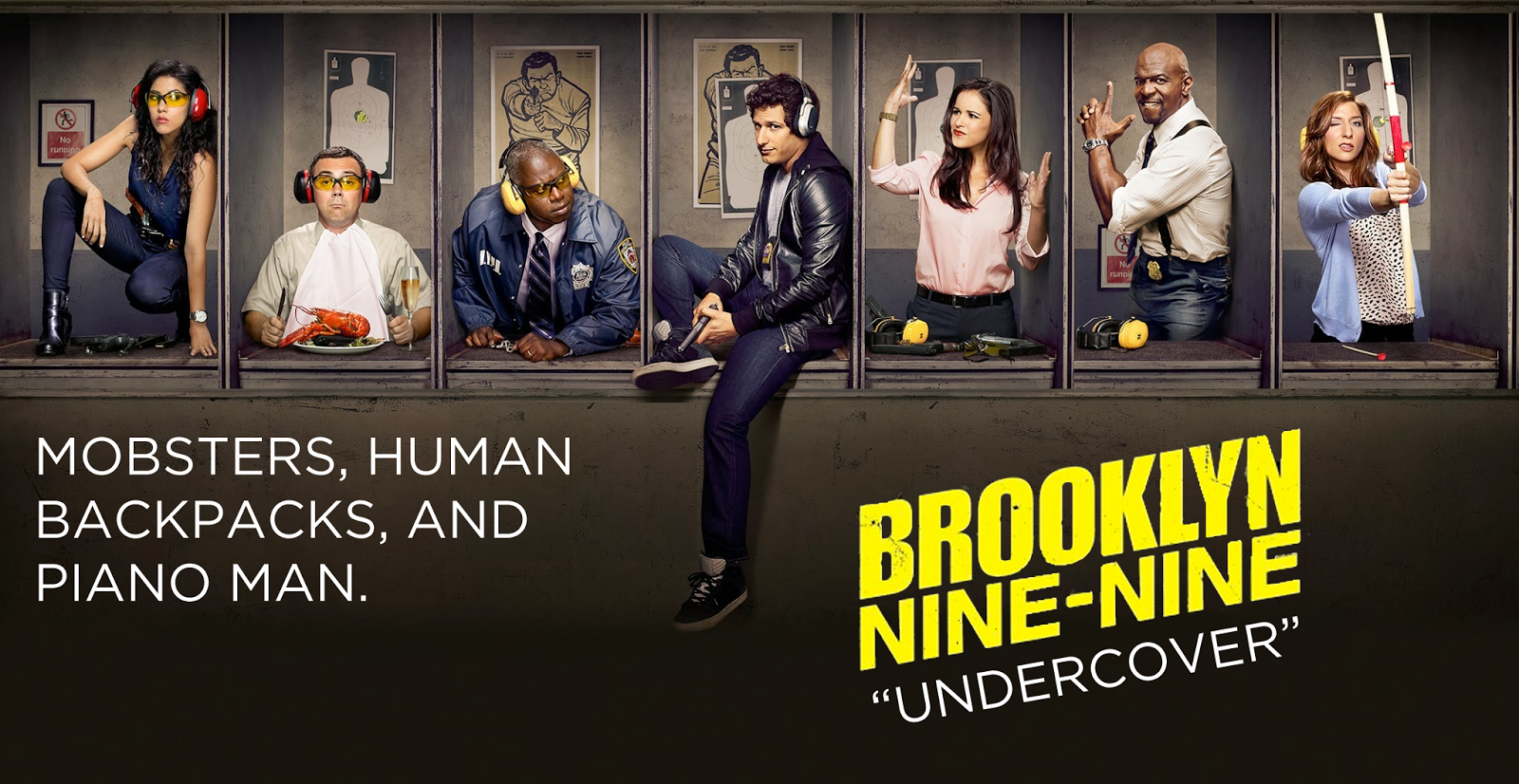 Brooklyn Nine-Nine - Episode 2.01 - Undercover - Review