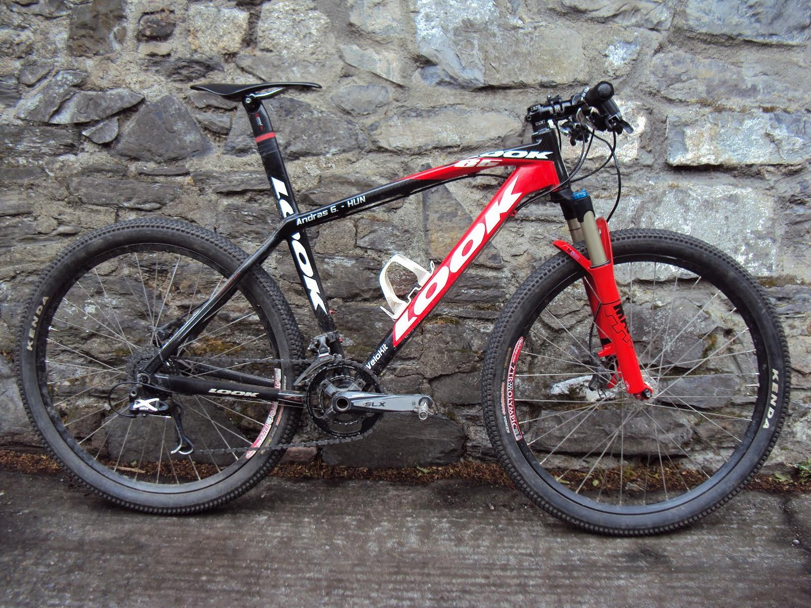András Gercsényi XC Mountain Biker: Look 986 - My bike that never ...