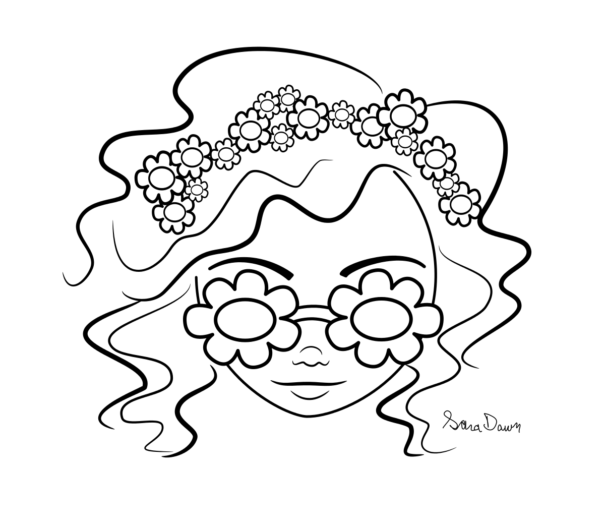 may flowers coloring page images pictures becuo