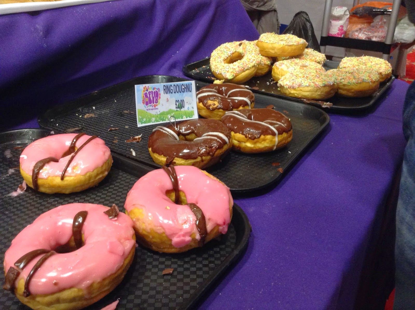 Big Fat Vegan Bakery at the North East Vegan Festival 2014