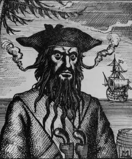 Smokin' Blackbeard