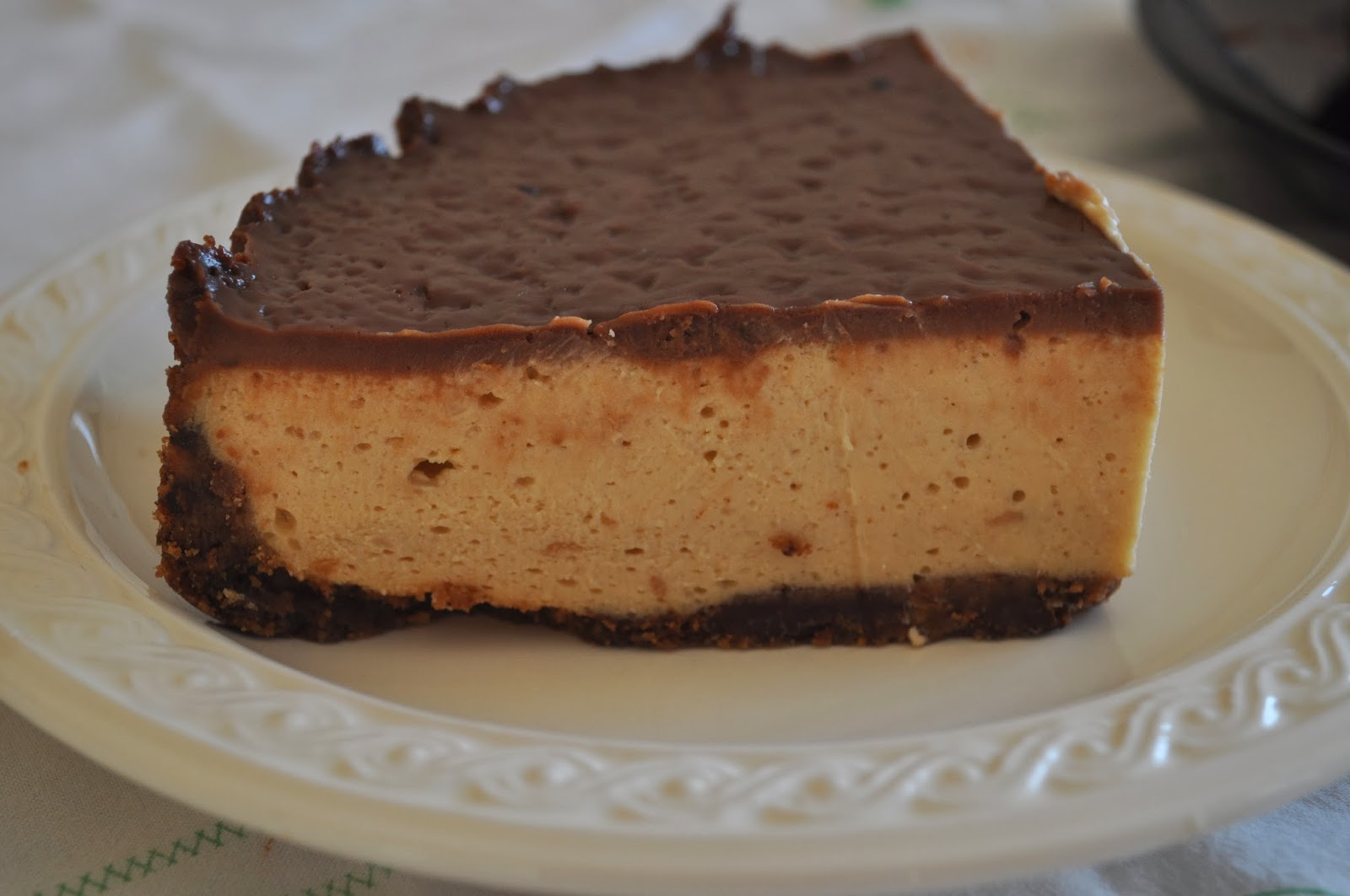 Favori Terra degli ulivi: Cheese cake al Burro di Arachidi DO03
