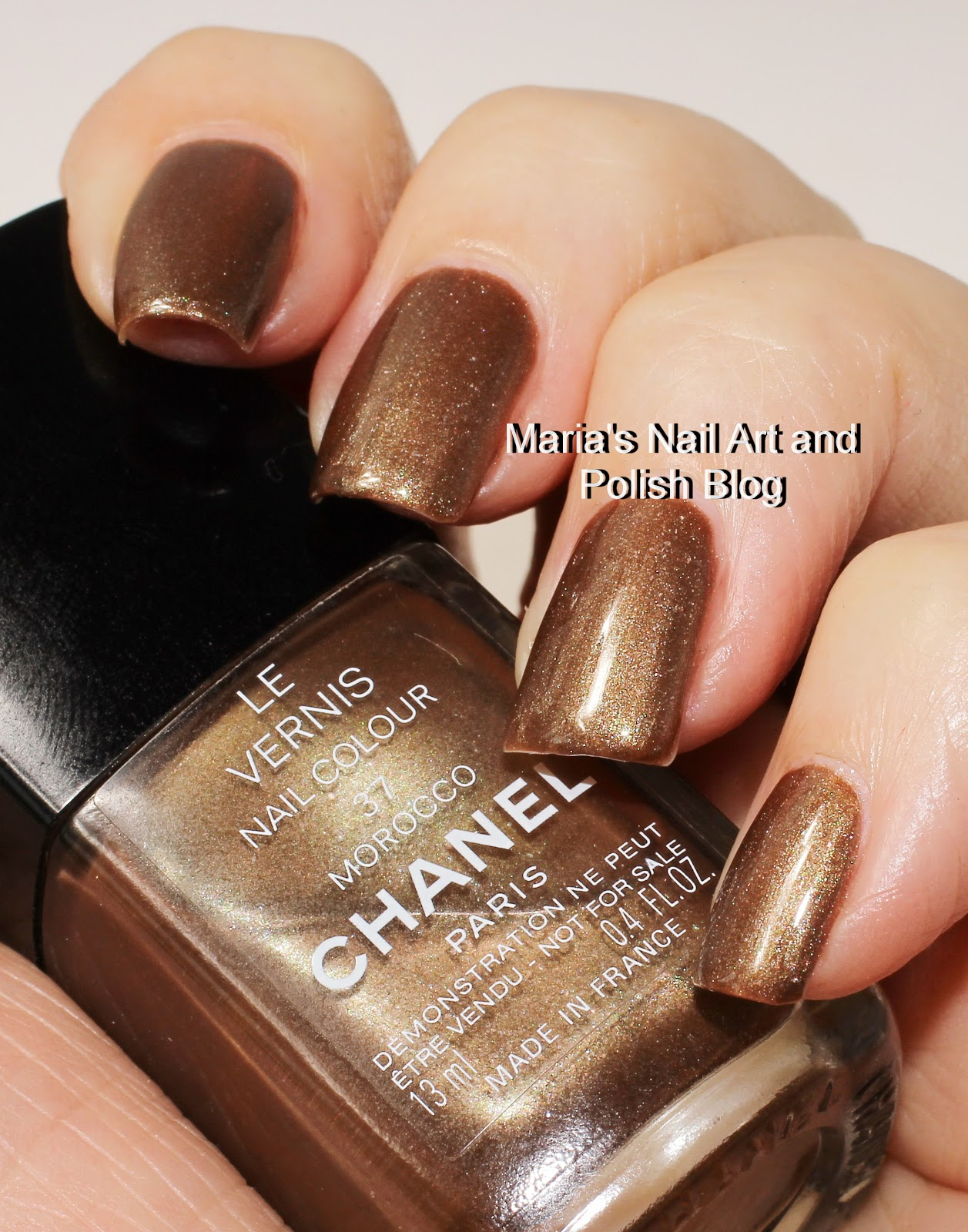 Marias nail art and polish blog chanel morocco 37 2000 chanel morocco 37 was to the best of my knowledge released in 2000 and its tempting to assume that it was in the same collection as sirocco 34 that i will prinsesfo Choice Image