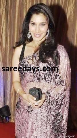 Latest saree designs sophie choudhary in designer brasso saree sophie choudhary in designer brasso saree altavistaventures Images