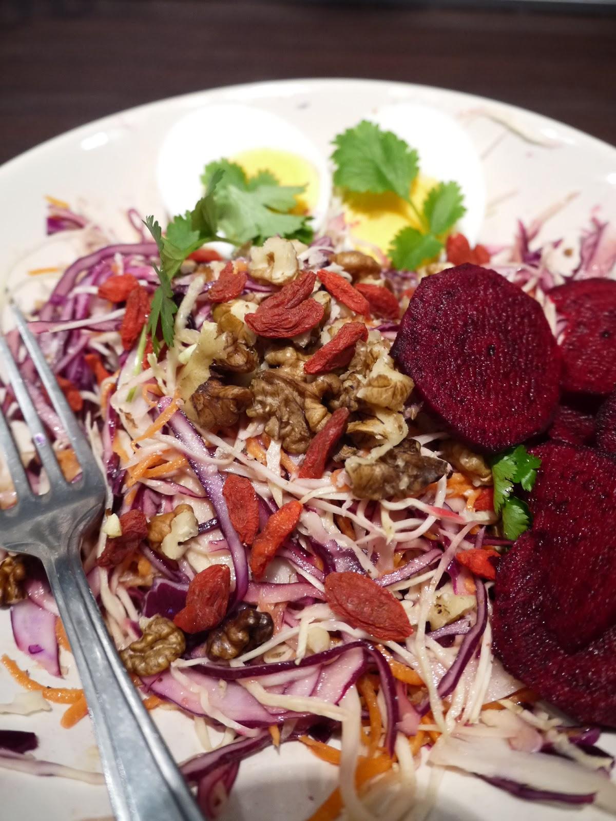 Appetit Voyage goes coleslaw