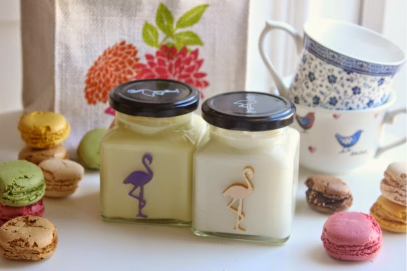 Flamingo Candles High Tea Collection