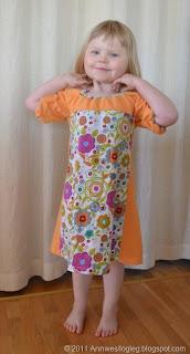 Om du manglar kjolemnster, men vil sy barnekjole N, kan du prve deg p denne!