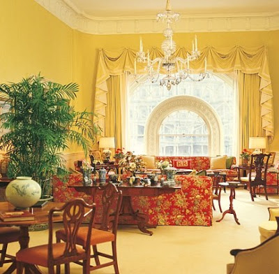 Debbie jacobs interior design for the first families - The white house interiors ...