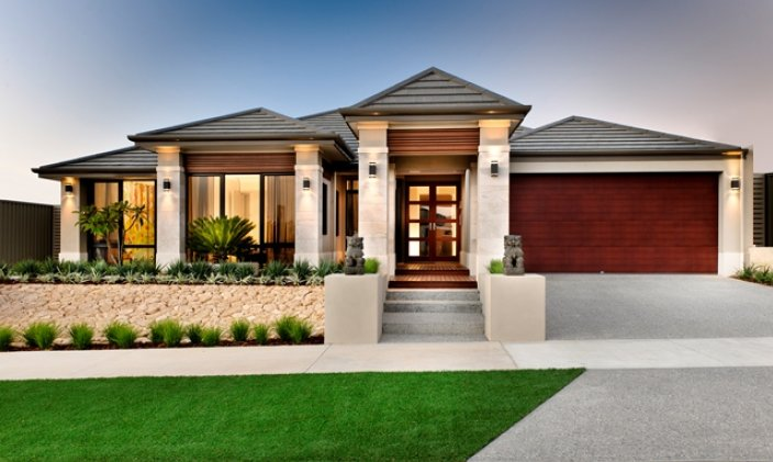 New home designs latest modern small homes exterior for New home designs wa