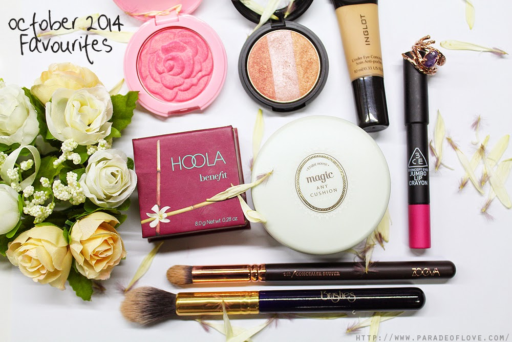 October 2014 Beauty Favourites