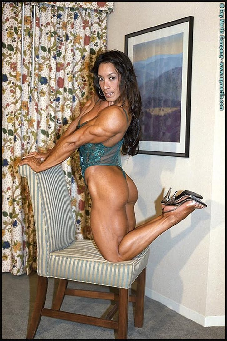 Denise Masino Modeling Her Amazing Butt, Muscular Legs And Shredded Arms