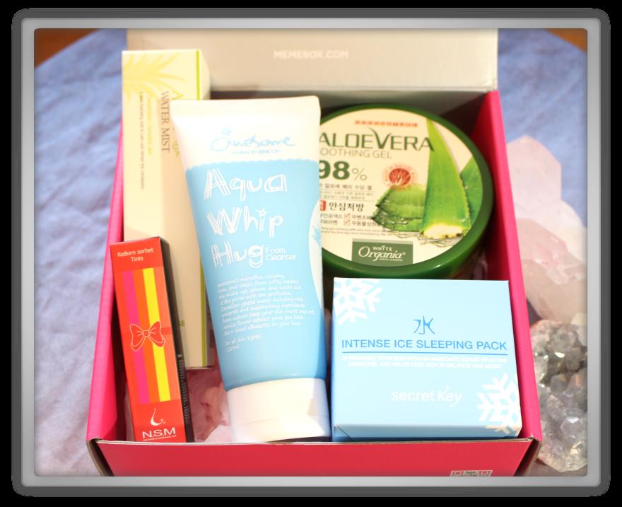 겟잇뷰티박스 by 미미박스 memebox beautybox # special #13 Cooling Care unboxing review preview box look inside