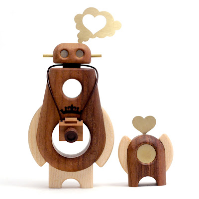 Cris Rose x Pepe Arborobots Wood Bots - Ramble and Roam
