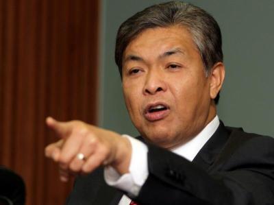 Balik Cina Zahid Hamidi