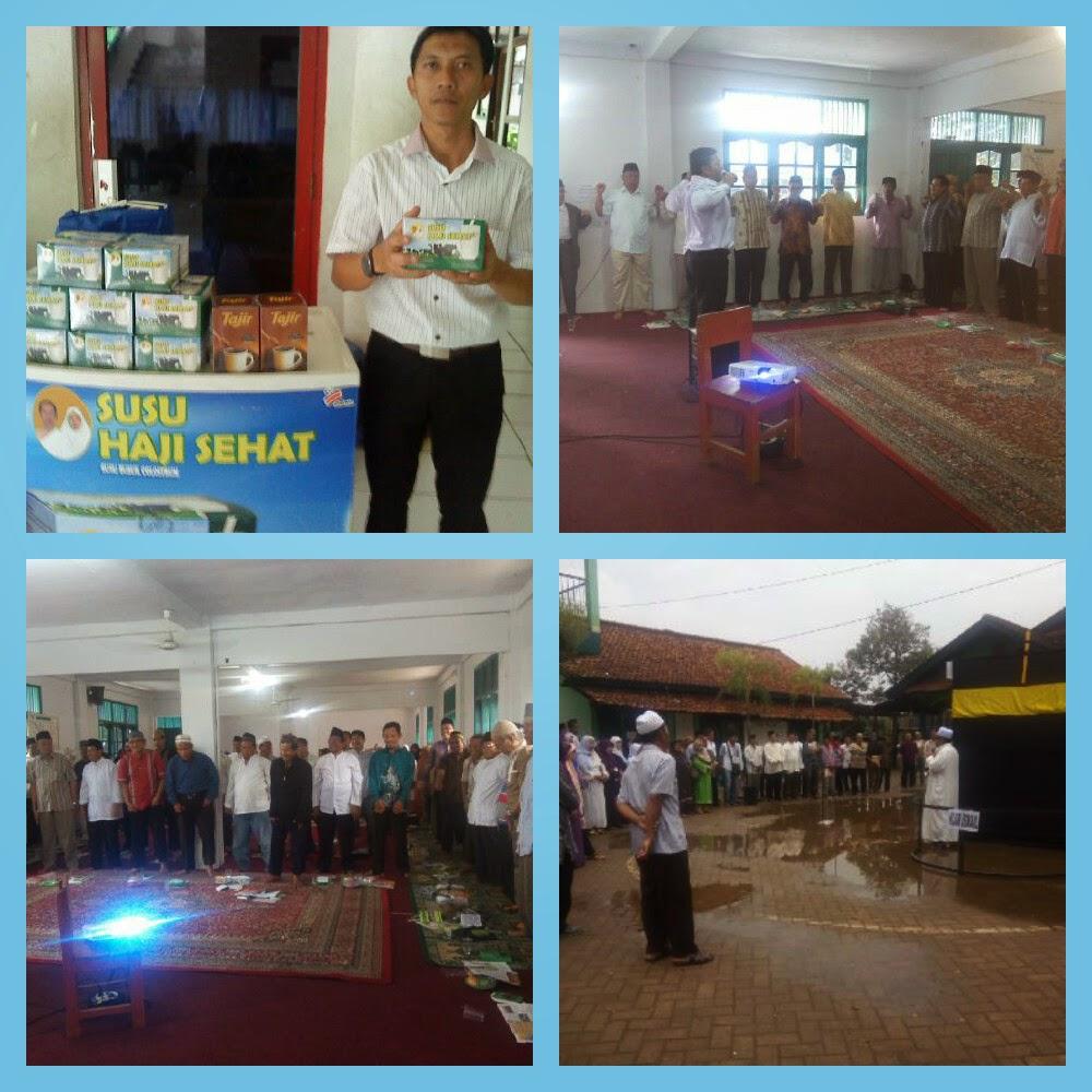 Edukasi kesehatan kepada calon Jamaah Haji KBIH Darul Ulum Parung Bogor