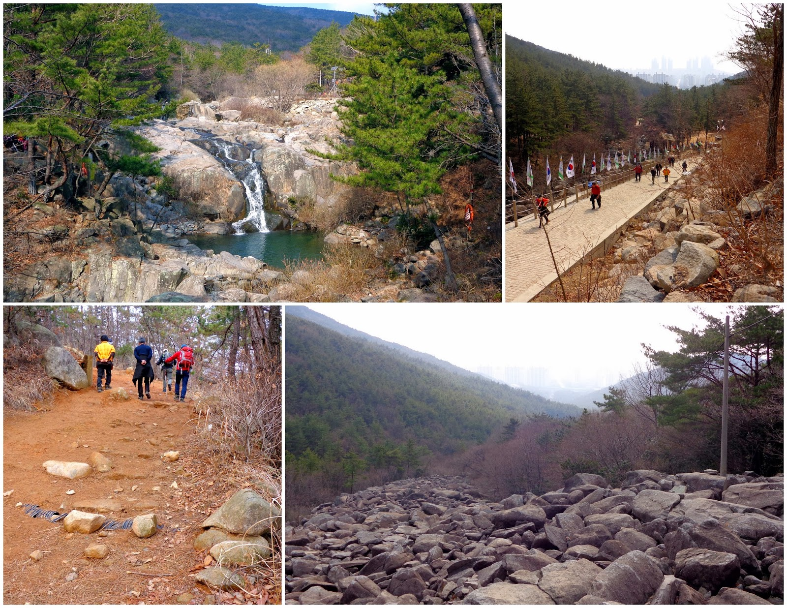 Jangsan Mountain in Busan, hiking
