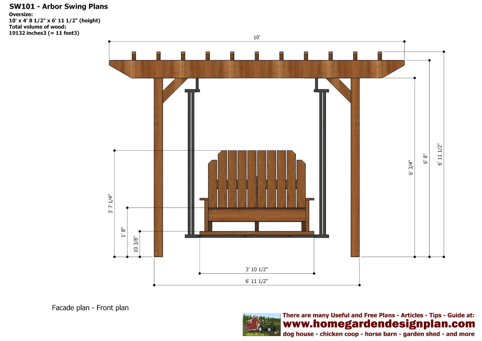 50 best Simple Arbor Plans Trellis Arbor or Pergola That is