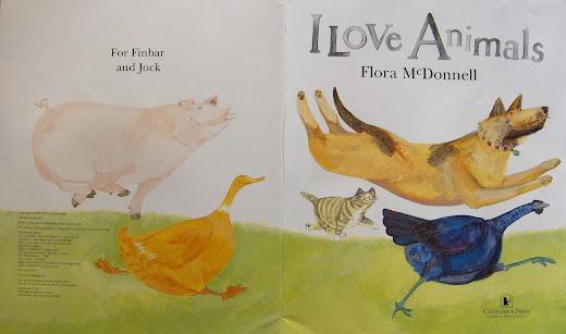 I Love Animals Big Book