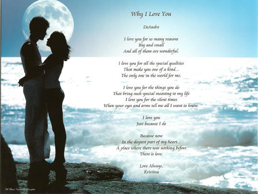 i love you poems for him. why i love you poems for him.