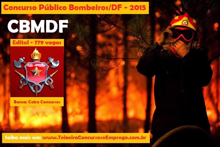 Apostila Concurso CBMDF - Corpo de BOMBEIROS - DF - Edital 2015.