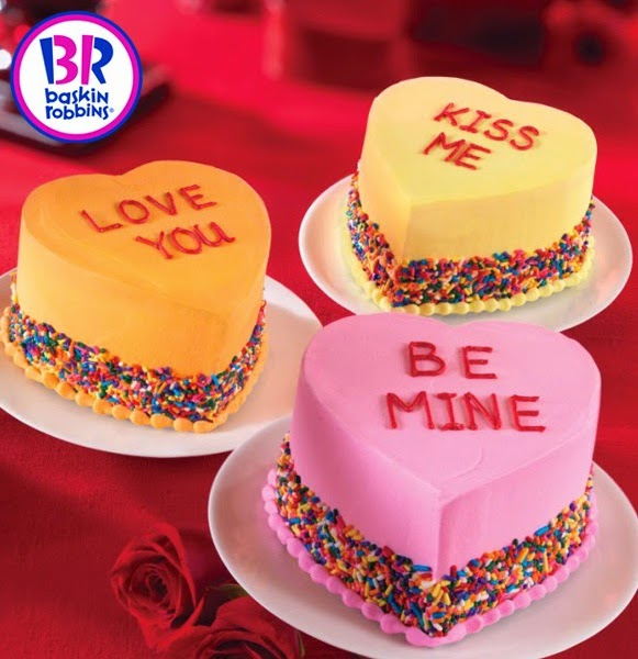 BaskinRobbins Valentines Day Cakes Dear Kitty Kittie Kath Top