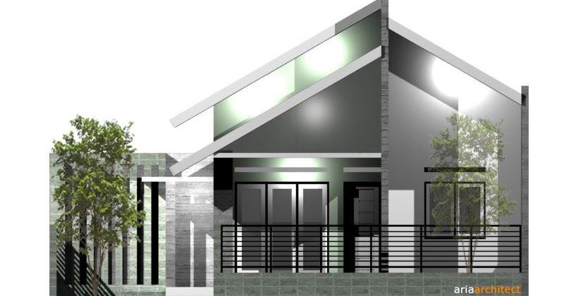 desain rumah minimalis desain rumah mungil di lahan 10 x 10 m