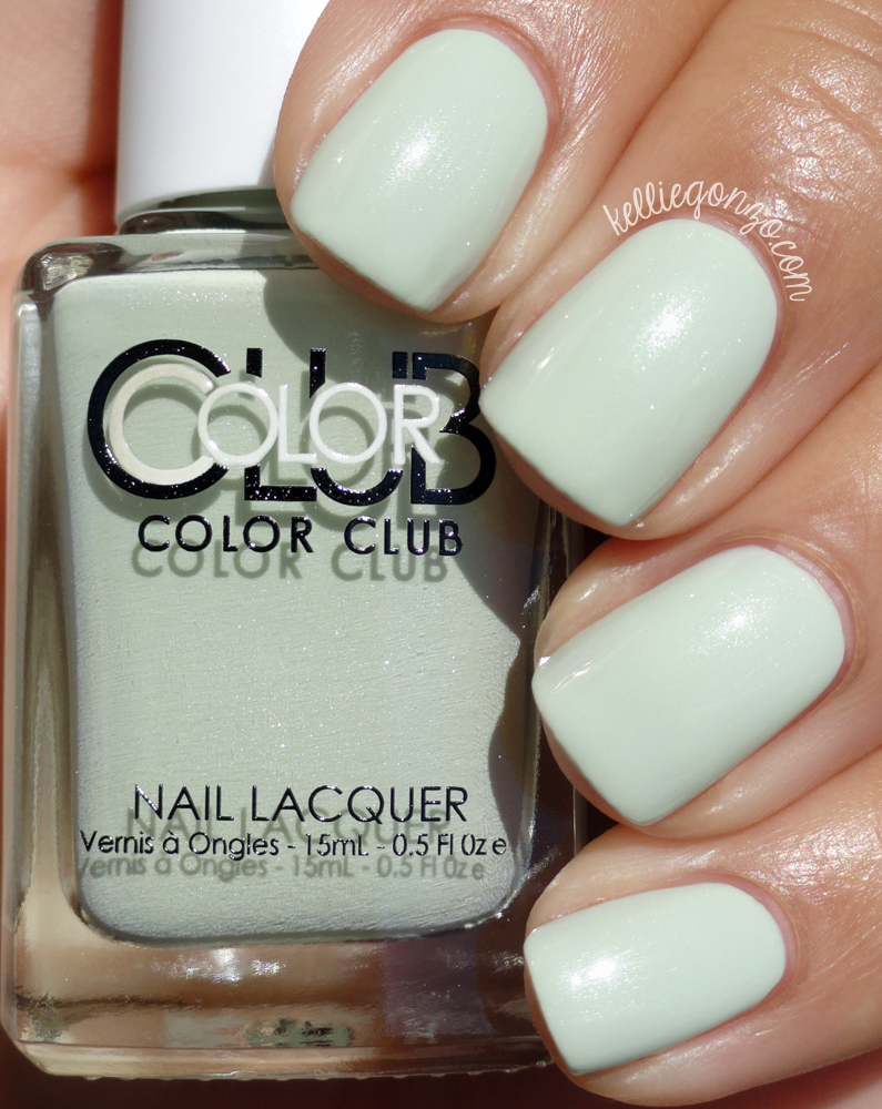 Color Club Sweet Mint Shift Into Neutral Collection