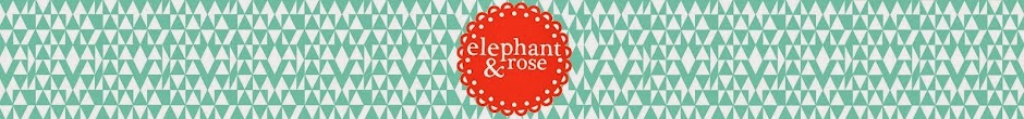 Elephant and Rose