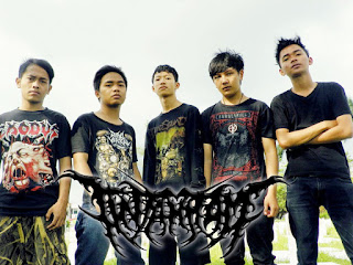 Tinta Hitam Band Technical Death Grind Tasikmalaya Foto Personil Logo Wallpaper