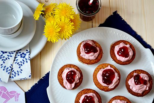Sieben Wochen vegan Selbstversuch Fazit Schwedische Preiselbeercupcakes Holunderweg 18