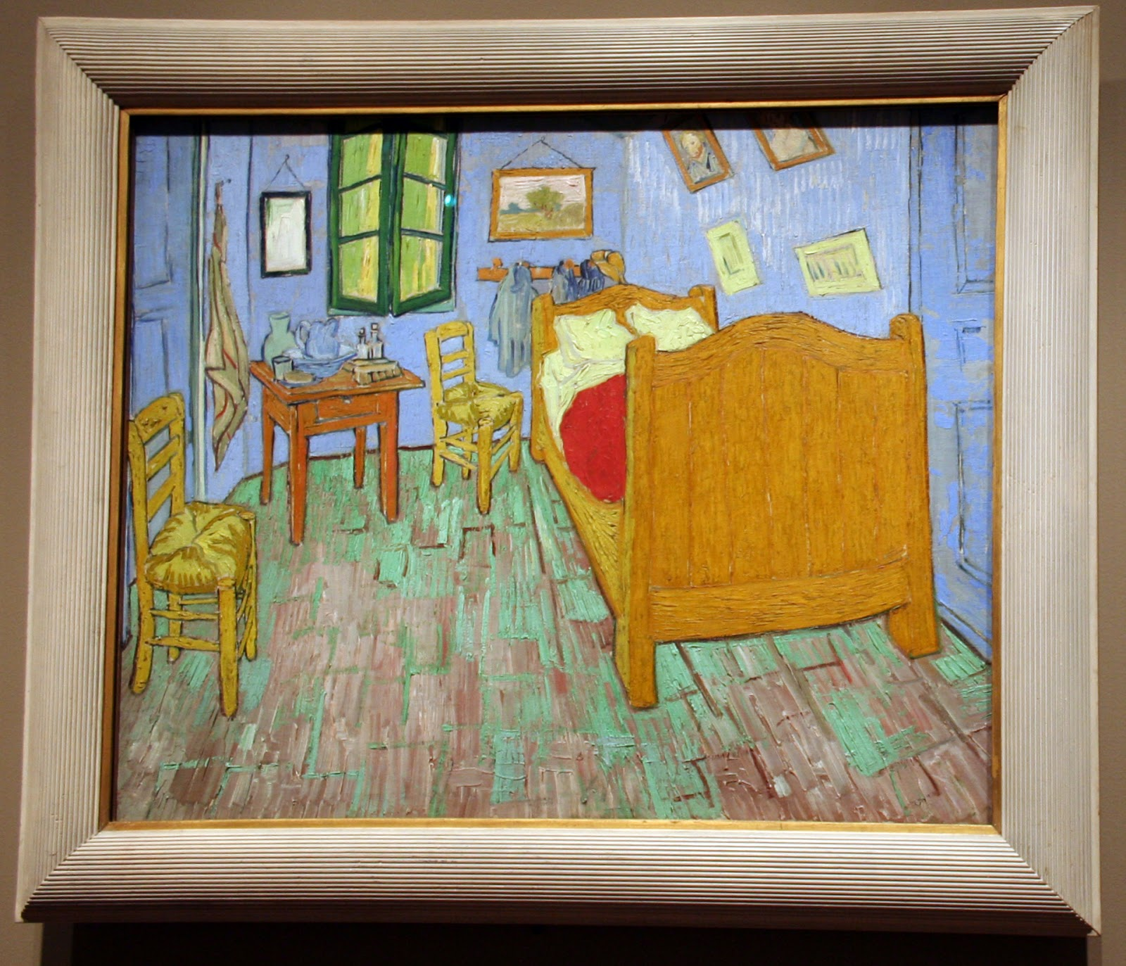 Voglio il mondo a colori chicago the art institute parte 3 gli impressionisti ed i post - La camera da letto van gogh ...